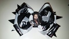 Wwe Roman Reigns Hair Bow  check out this item in my Etsy shop https://www.etsy.com/listing/228046432/wwe-wrestling-roman-reigns-hair-bow-with