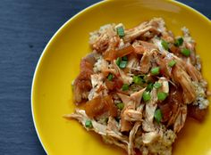 Slow cooker lime teriyaki chicken