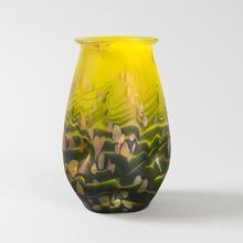 Art Nouveau Iridescent Glass Vase by Loetz