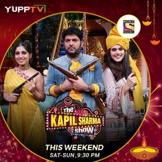 Enjoy episode of your favorite program The Kapil Sharma Show on Sony TV HD at any time through YuppTV. Kapil Sharma, Sony Tv, Full Episodes, Jr, Channel, Live