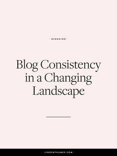 Four ways to blog co