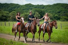 get in shape for horse riding