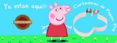 Cortadores de Peppa Pig!