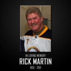 The hockey world lost a great legend last year Buffalo Hockey, Buffalo Sabres, Hockey World, Education For All, Hockey Stuff, Legends, Spirit, Lost, Memories
