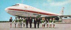 TWA 747 Crew early 70's