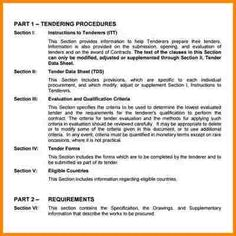 8+ example of tender document | quote templates | Lexar F | Quote