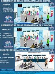 Pantalla electrónica   de turnos alambrica - Lima - avisos y anuncios clasificados gratis en Perú