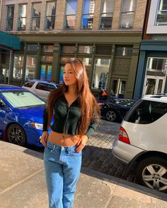 Jean Outfits, Cute Outfits, Fashion Outfits, Mix Style, Style Me, Mabel Chee, Lily Chee, Low Waist Jeans, Passion For Fashion