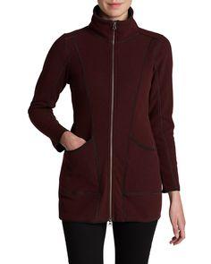 Fleece Jacket on flight. Also available in grey.
