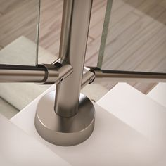 Stairs Architecture, Architecture Details, Desk Lamp, Table Lamp, Staircase Railings, Glass Railing, Modern Stairs, Grill Design, Living Spaces