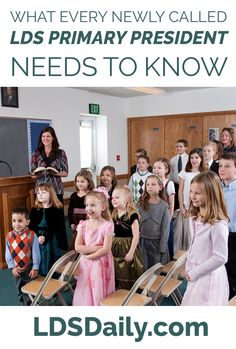 Have you just been called as the Primary President in your LDS congregation? Are you looking for advice on how to serve your children most effectively? We went right to the source and asked women who have served in Primary what they would want a newly called Primary President to know. Here are the very …