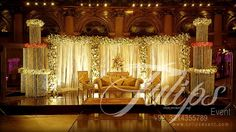wedding stage decoration - Google Search