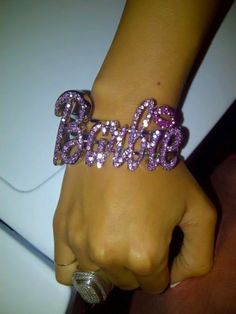 Purple Bling Barbie Bracelet ~Barbie World~