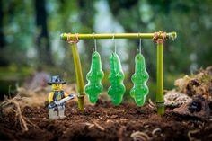 Crocodile Dundee by Samsofy Samlal. Crocodile Dundee, Kunst Online, Online Art, Lego Photography, Creative Photography, Lego Star Wars, Deco Lego, Lego Poster, Pokemon Lego