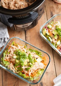 Tex-Mex Pulled Chicken Pulled Chicken, Tex Mex, Fried Rice, Slow Cooker, Spicy, Paleo, Ethnic Recipes, Food, Salad