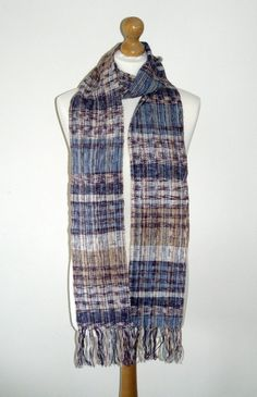 Extra Long Scarf by TheQuiltedWeaver on Etsy
