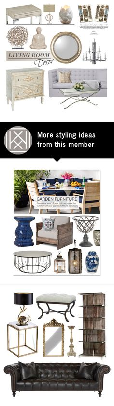 """Living Room"" by kathykuohome on Polyvore"