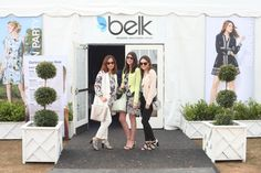 Fashion Bloggers from the Belk Style Summit outside the Belk Tent at Charleston Fashion Week 2015 #CHSFW #BelkScene