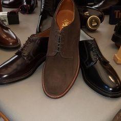 giki_roma Alden sfoderate, suola in bufalino #gikiroma #alden #aldenshoes #shoesoftheday  #boutiquerome #classicstyle #topshoes #elegantshoes #menstyle #menfootwear #menshoes #instashoes #outfit #shoes #duilio #bespoke #bespoken #handmadeshoes #outfitoftheday #outfitinspiration #styleman #stylish #shoestagram #shoeslovers #shoesaddict #collection #showcase www.giki.it 2017/06/09 16:40:42