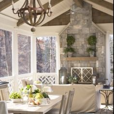 outdoor entertaining room
