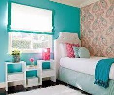 cortinas para dormitorios juveniles turquesa - Buscar con Google