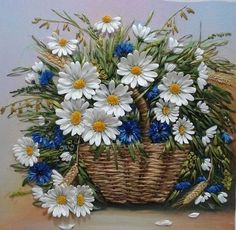 Wonderful Ribbon Embroidery Flowers by Hand Ideas. Enchanting Ribbon Embroidery Flowers by Hand Ideas. Arte Floral, Flower Crafts, Flower Art, Decoupage, Art Carte, Daisy Love, Ribbon Art, Silk Ribbon Embroidery, Embroidery Stitches