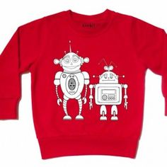 college ROBOT punainen