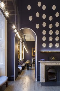Diseño interior obra de SHH en Pennethorne Cafe Bar   Decoration Digest