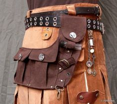 Steampunk Spare Pockets***Research for possible future project.