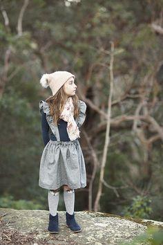 Free Pattern! Ruffled Suspender Skirt