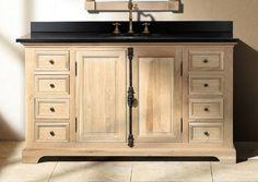 Pic Of Rustic Bathroom Vanity Idea Inch Providence Natural Oak Single Sink Vanity Found it