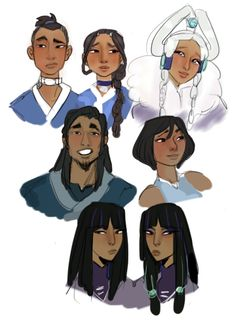 i luv korra she is cute and powerful me babe Avatar Airbender, Avatar Aang, Team Avatar, Character Art, Character Design, The Last Avatar, Water Tribe, Avatar Series, Fanart