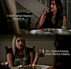 Hanna knows what Hanna means