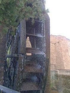 Murcia. Huemur denuncia desperfectos en la Rueda de La Ñora, restaurada hace tres años.