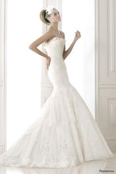 Sheath Wedding Dress : Pronovias 2015 Pre-Collection Wedding Dresses  Costura Bridal Collection | We
