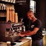 Silbert The Barista at Jacksonville Coffee