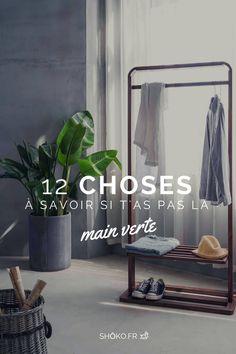 Si tu fais crever toutes tes plantes, voilà qui devrait t'aider à avoir la main (un peu) plus verte Decoration, Wardrobe Rack, Oversized Mirror, Furniture, Design, Home Decor, Ideas, Plants, Dekorasyon