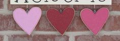 MONTHLY WELCOME FEBRUARY Decorations no sign included by lisabees, $14.95
