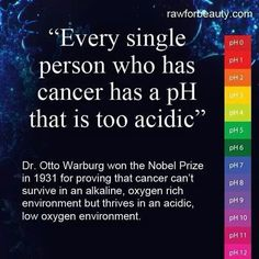 Did you know that cancer cannot live in an #alkaline environment?! #Greens from ItWorks! Global is an #alkalizing drink powder with 8 servings of fruits and veggies in each scoop! http://www.greensforme.com/
