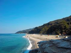 Parisaina beach is right next to Chorefto beach and it used to be a nudist beach. #sea #Greece #view #beaches