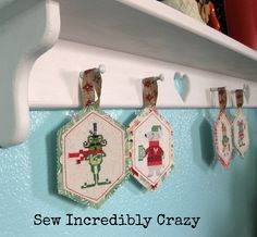 Sew Incredibly Crazy: Brooke's Book Animal Advent