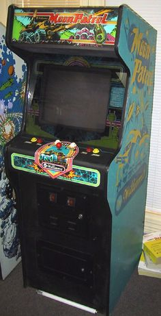 Moon Patrol arcade game by Williams