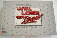 Win, Lose or Draw - Party Edition (1988) by the walt disney company, http://www.amazon.ca/dp/B000FIAWSM/ref=cm_sw_r_pi_dp_2X-isb07J5HWM