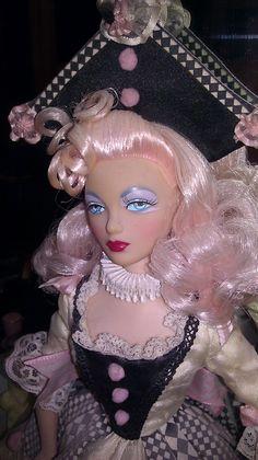 Gene Pierrette Doll Ooak Dolls, Barbie Dolls, Little Bo Peep, Never Grow Up, Friends Fashion, Masquerade Ball, Almost Always, Doll Face, Clowns