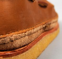 """""""HIPPIE SHOE"""" MOCCASINS, PLAINSMAN BROWN CHROMEXCEL LEATHER, HICKOREE'S EXCLUSIVE :: HICKOREE'S"""