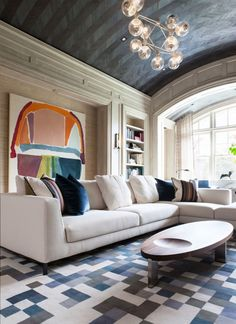 ECLECTIC LIVING ROOM   modern living room design, mix of styles   http://www.bocadolobo.com/en/index.php #contemporarydesign #contemporarydecor