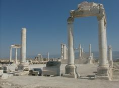 Turchia - Laodicea - i templi romani - di enzi