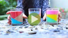 Überall stapeln sich alte Wachsmalstifte und abgebrannte Kerzen? Das muss nicht sein! In diesem Video zeigen wir Dir, wie Du in Windeseile tolle Kerzen zaubern kannst.