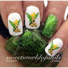 Tinker Bell Nail Art Nail Water Decals Transfers Wraps