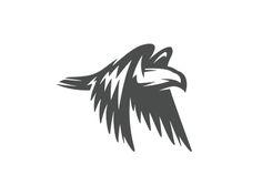 Eagle logo by Mersad Comaga